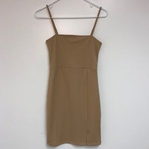 NWT Forever 21 Ribbed Cami Bodycon Dress Small